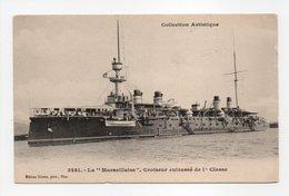 - CPA MARINE MILITAIRE - Croiseur Cuirassé La MARSEILLAISE - Edition Giletta 3231 - - Guerre