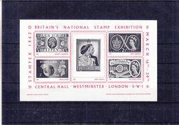 Scoutisme - Jeux Olympiques - Europa 60 - Jubilé D'Argent - Grande Bretagne - Feuillet Souvenir ** - Stampex 1962 - Padvinderij