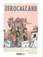 EX-LIBRIS ZEROCALCARE  CANAL BD LIBRAIRIES - Ex-libris