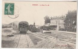 Cpa 58 Corbigny La Gare P.L.M. - Corbigny