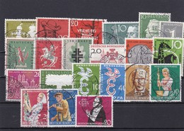 Bundesrepublik, Kpl. Jahrgang 1958, Gest. (8420) - Used Stamps