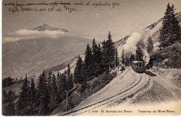 St Saint Gervais Les Bains Tramway Du Mont Blanc - Saint-Gervais-les-Bains