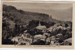 St Saint Gervais Les Bains Vue Plongeante Et Hotel Beau Rivage - Saint-Gervais-les-Bains