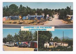 83 Carqueiranne Camping Des Palmiers En 1981 Caravane Citroën Ami 6 Break VW Käfer Opel Kadett - Carqueiranne