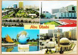 Af092 ABU DHABI United Arab Emirates Emirats Arabes Unis Multivues 1990s - United Arab Emirates