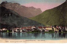St Saint Gingolph Lac Leman - France