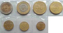Argentina. A Set Of Coins. 1, 5, 10, 25, 50 Centavo 1, 2 Pesos. 1993-2013. UNC - Argentinië