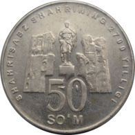 Uzbekistan. Coin. 50 Soms. 2002 - Usbekistan