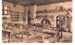 Brugge-Bruges-Hof Van Gruuthuse-Hotel-Keuken-Cuisine-Kitchen-Collection De Grès-+/-1910-edit.Nels-A.Brusselle, Brugge - Brugge