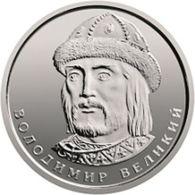 Ukraine. Coin. 1 Hryvnia. 2018. UNC. Prince Vladimir The Great - Ukraine