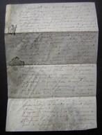 Parchemin De 1772 Généralité De Poitiers Concernant Une Vente, Voir Photos Pour Le Détail - Manuscripts