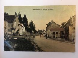 Germolles - Entrée Du Pays - France