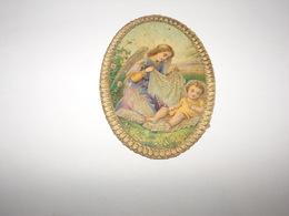 Jolie Image Religieuse De 1892.Saint Ange Gardien Et L Enfant.Heiliger Schutzengel. - Religion & Esotérisme