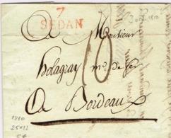 Ar31-  7 / SEDAN   Ardennes  1810 - 1801-1848: Precursors XIX