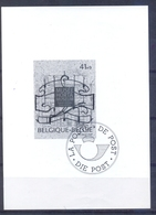 België - 1997 - Museum - Horta - Sint-Gillis - Feuillets Noir & Blanc