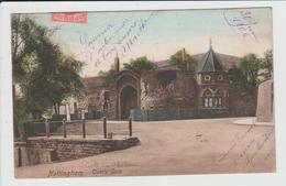 NOTTINGHAM - ROYAUME UNI - CASTLE GATE - Nottingham