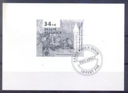 België - 1996 - Museum - Vleeshuis Antwerpen - Feuillets Noir & Blanc