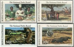 Ref. 47938 * NEW *  - BOPHUTHATSWANA . 1988. NATIONAL PARKS. PARQUES NACIONALES - Bofutatsuana