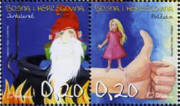 Ref. 575460 * NEW *  - BOSNIA-HERZEGOVINA. Croatian Adm. . 2005. FAIRY TALES. CUENTOS DE HADAS - Bosnia Herzegovina