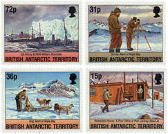 Ref. 37152 * NEW *  - BRITISH ANTARCTIC TERRITORY . 1994. 50th ANNIVERSARY OF THE TABERNIN OPERATION. 50 ANIVERSARIO DE - Unused Stamps