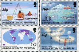 Ref. 56643 * NEW *  - BRITISH ANTARCTIC TERRITORY . 1996. 24th MEETING OF ANTARCTIC INVESTIGATIONS SCIENTIFIC COMMITTEE. - Unused Stamps