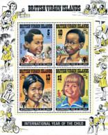 Ref. 52706 * NEW *  - BRITISH VIRGIN Islands . 1979. INTERNATIONAL YEAR OF THE CHILD. A�O INTERNACIONAL DEL NI�O - British Virgin Islands