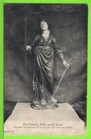 SAINTE THECLE / PRIEZ POUR NOUS / SOUVENIR DE L'ERECTION DE LA CHAPELLE 13-09-1913 / Carte Centenaire écrite En - Santos