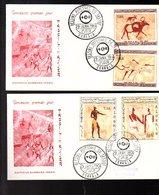 1966 Tassili N'Ajjer Scarce FDC's (111) - Algerien (1962-...)