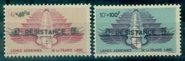 LEVANT N°PA 8 / 9 Nxx France Libre Tirage:8450 Ex Cote 120 € (maury ) Rare - Ongebruikt