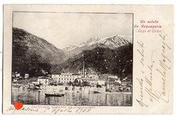 00482-LE-ITALIE-Un Saluto Da Asquaseria (Lago Di Como)-Restaurant Gabbane All'Imbarcadero - Italien