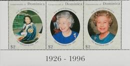 Dominica 1996 Queen Elizabeth II. 70th Birthday - Dominica (1978-...)