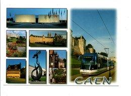 CPM MULTIVUES DE CAEN CALVADOS - Cartes Postales
