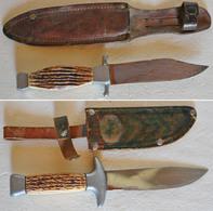 BEAU LOT DE DEUX COUTEAUX Anciens, Voir Description. Lct11 - Knives/Swords