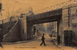 CPA LE VAR - Route De St-Martin Vésuble - Francia