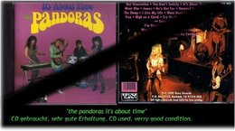 """PANDORAS"" ITS ABOUT TIME -1993- - Hard Rock & Metal"