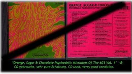 """ORANGE, SUGAR & CHOCOLATE"" PSYCHEDELIC...... -1989- -R- - Hard Rock & Metal"