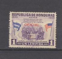 Yvert Service 78 Oblitéré - Honduras