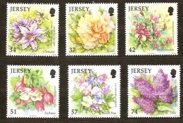 Jersey 2007 Yvertn° 1346-1351 *** MNH  Cote 14 Euro Summer Flowers Fleurs Bloemen - Jersey