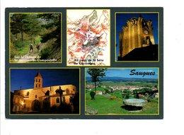 CPM MULTIVUES DE SAUGUES GEVAUDAN HAUTE LOIRE - Postcards
