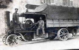 CARTE PHOTO ESSONNE - Vieux Camion à Vapeur  FODENS A  SACLAS - Autres Communes