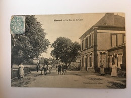 Hermé - La Rue De La Gare - Frankrijk