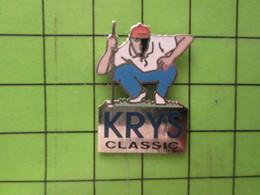 1018a Pin's Pins / Beau Et Rare / THEME SPORTS : GOLF GOLFEUR KRYS CLASSIC - Golf