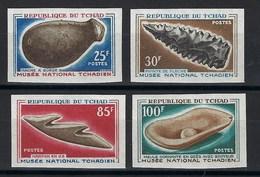 République Du Tchad, Non Dentelé, N° 132 à 135 ** TB - Tsjaad (1960-...)
