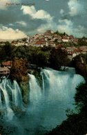 FAJCE MIT WASSERFALL. BOSNIA Y HERZEGOVINA BOSNIEN UND  HERZEGOWINA - Bosnien-Herzegowina