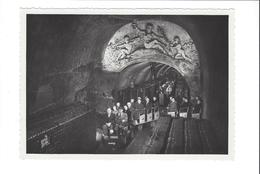 PHOTO EPERNAY  VISITE DES CAVES MERCIER  23/01/1955     ******  RARE  A   SAISIR  ******* - Vieux Papiers