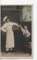 Cpa.Enfants.illustration Falbes De La Fontaine Le Corbeau Et Le Renard.1916 - Scènes & Paysages