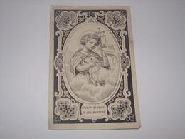 Image Religieuse.Saint Jean Baptiste. - Religion & Esotérisme