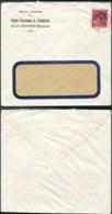 AO010 - Lettre De La Louvière  1946 - Hauts Fourneaux Fonderies - 1946 -10%