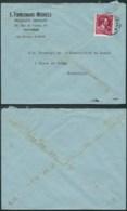 AO019 - Lettre De Vilvorde à Bruxelles  1946 - Produits Abrasifs - 1946 -10%