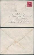 AO020 - Lettre De Wandre à Bruxelles  1946 - Carrelage Faience - 1946 -10 %